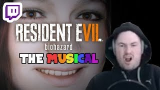 Sips streams Resident Evil 7: Biohazard but only the funny bits