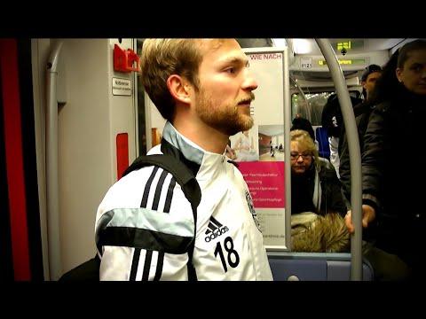 Auf der Fahrt mit Philipp Tiede (Harburger TB) | ELBKICK.TV