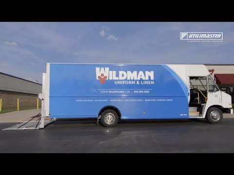 Utilimaster is proud to provide Wildman Uniform & Linen with vehicles to serve thousands of customers every week, all while keeping drivers safe.