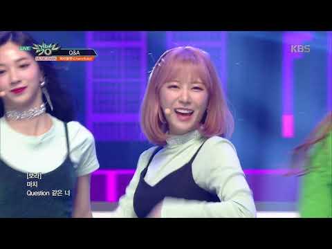 뮤직뱅크 Music Bank - Q&A - 체리블렛 (Cherry Bullet) .20190215