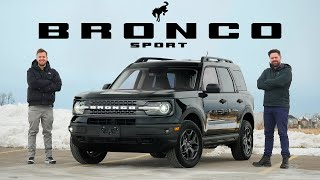 2021 Ford Bronco Sport Badlands Review // Big Name, Small Price