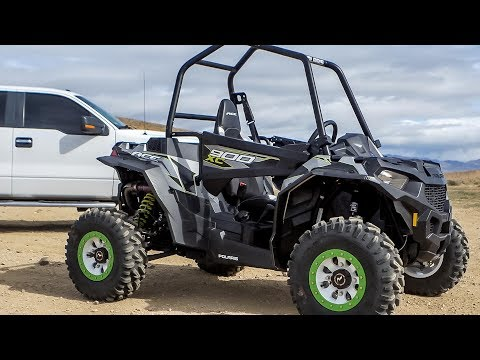 2017 Polaris ACE 900 XC test with Dirt Wheels Magazine