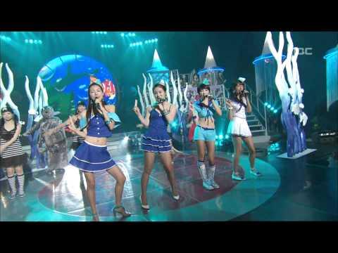 음악중심 - LPG - Princess of Sea, 엘피지 - 바다의 공주, Music Core 20070714