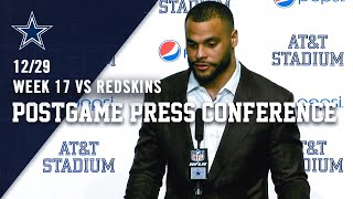 Dak Gets Emotional Discussing Jason Garrett & Disappointing 2019 Season   Dallas Cowboys