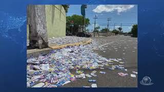 """Candidatos podem pagar até R$ 8 mil por """"santinhos"""" jogados nas ruas   Jornal da Cidade"""