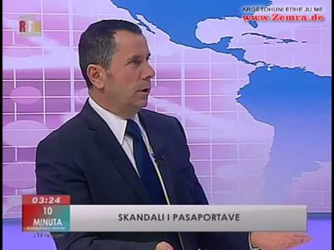 SKANDALI I PASAPORTAVE - RTK 07.01.2012