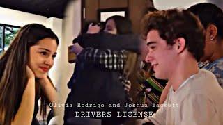 Olivia Rodrigo and Joshua Bassett || Drivers license