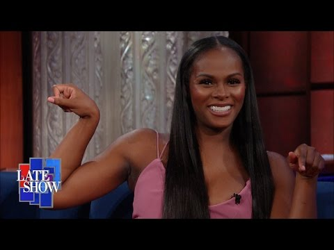 Tika Sumpter had to Get Buff to Portray First Lady Michelle Obama