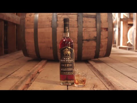 Sam Houston 12 Year Old Bourbon Whiskey - Release No.2