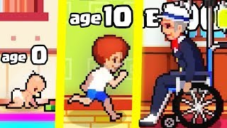 IS THIS THE HIGHEST LEVEL AGE BABY LIFE EVOLUTION? (9999+ LIFE SIMULATOR) l Life is a Game