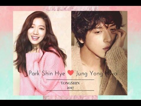 Park Shin Hye and Jung Yong Hwa 2017   YongShin Moments
