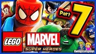 LEGO Marvel Super Heroes Walkthrough Part 7 Thor Bifrosty Reception!
