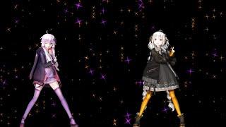 [MMD Hologram] Happy Synthesiser - Yuzuki Yukari & Kizuna Akari - 9th & 3rd Anniversary