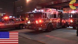 [NEW YORK CITY] ALL OUT! FDNY Midtown Firehouse go on a run!