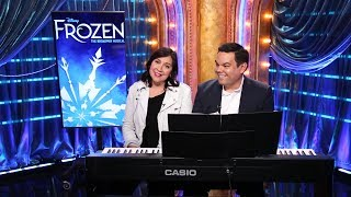 FROZEN songwriters Kristen Anderson-Lopez and Robert Lopez on bringing the show to Broadway