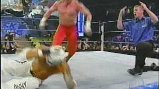 Rey Mysterio and Edge vs Los Guerreros