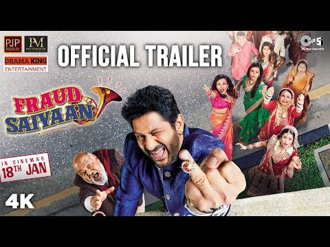 Fraud Saiyaan Official Trailer - Arshad Warsi, Saurabh Shukla, Elli AvrRam, Sara Loren