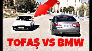 Tofaş Bmw'ye Kafa Tutarsa!  Tofaş VS BMW (Böyle yarış Görülmedi)