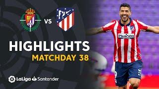 Resumen de Real Valladolid vs Atlético de Madrid (1-2)