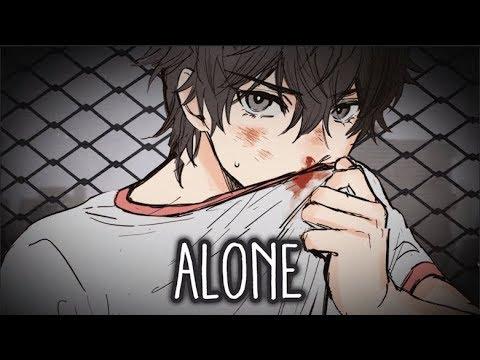【Nightcore】→ Alone || Lyrics