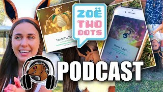 ZOETWODOTS ON POKEMON GO PODCAST! LUCKY POKEMON! CHICAGO GO FEST 2018 MEETUP!
