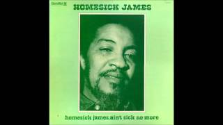 Homesick James - Ain't Sick No More (1973)