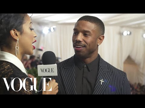 Michael B. Jordan on His High Expectations for the Met Gala | Met Gala 2018 With Liza Koshy | Vogue
