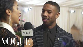 Michael B. Jordan on His High Expectations for the Met Gala | Met Gala 2018 With Liza Koshy | Vogue