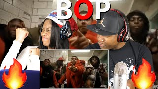 CJ - BOP [Official Music Video] REACTION