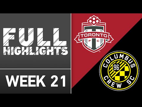HIGHLIGHTS: Toronto FC vs. Columbus Crew SC