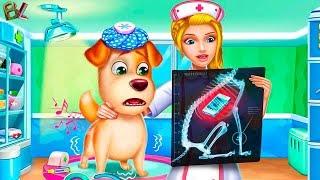 Клиника Для ПИТОМЦЕВ УЧИМ  Детей Ухаживать За Животными Развивающее Видео Для Детей