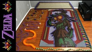 The Legend of Zelda Majora's Mask (In 67,507 Dominoes!)
