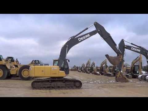 2007 Deere 270D LC, Excavator A01969
