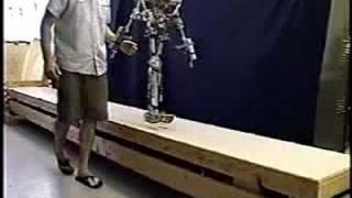 Steve Collin's Passive Dynamic Robot