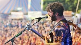 Foals - Inhaler live at Reading Festival 2013