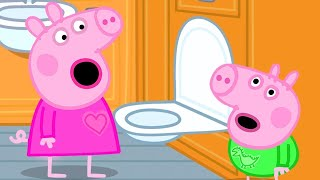 Peppa Pig Official Channel | Peppa Pig's First Long Train Journey Experience