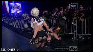 Beautful People Entrance Velvet Sky Madison Rayne TNA POP TV 1/5/2015