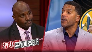 Jim Jackson on Warriors' issues, doesn't think KD will sign with Clippers   NBA   SPEAK FOR YOURSELF