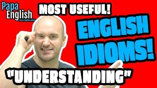 Understand Idioms in English! - Learn English Vocabulary