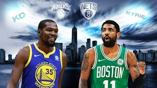 Would Kevin Durant, Kyrie Irving make New York basketball relevant again? | 2019 NBA Free Agency