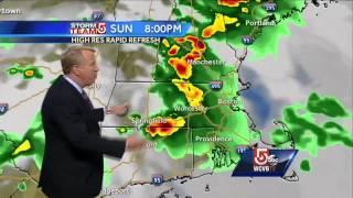 Severe weather possible across Massachusetts Sunday
