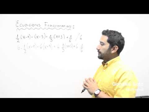 Ecuaciones fra6