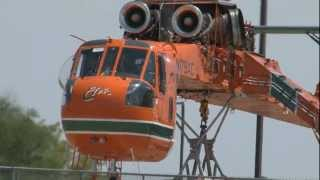 Erickson Skycrane  Doing What It Does Best !