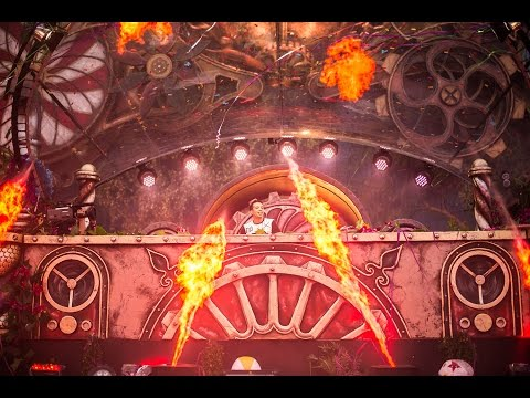 Laidback Luke at TomorrowWorld 2015
