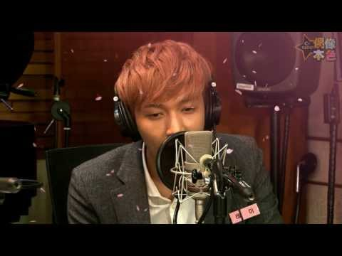 131116 EXO Lay singing lullaby @MBC C-RADIO 偶像本色
