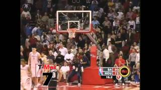 Tracy McGrady - 13 points in 35 seconds, December 9, 2004 (HD) with counter