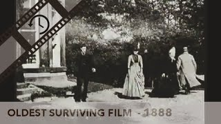 Roundhay Garden Scene - Oldest Surviving Film (Louis Le Prince 1888)