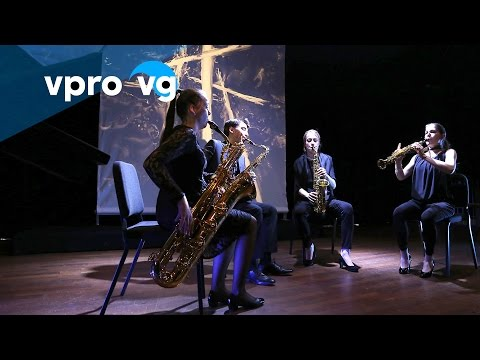 Teaser 13/3/16 Jasper van 't Hof, Ebonit Saxophone Quartet, Ob-literate