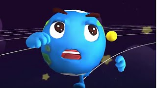 Baby Panda Explore And Learn About The Planets In Our Solar System | Babybus Kids Games