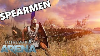 Total War ARENA - Am I The Worst Hoplite Player In Arena?